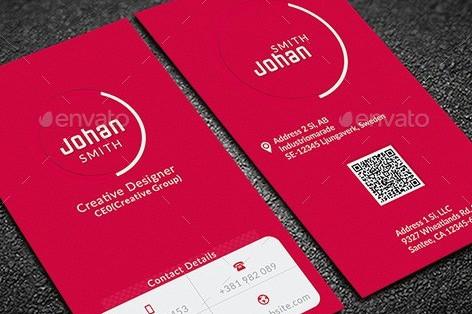 طرح لایه باز کارت ویزیت Creative Business Card 12499466