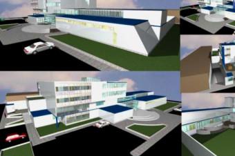 دانلود پروژه آماده طرح سه بعدی اتوکد ساختمان و مجتمع بیمارستان