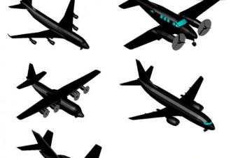 دانلود پروژه آماده اتوکد طرح سه بعدی اتوکد هواپیما