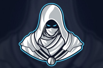 لوگو رایگان نینجا | ninja gaming logo